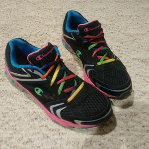 13f9616000604 Champion Shoes - Champion Rainbow Sneakers women s size 10